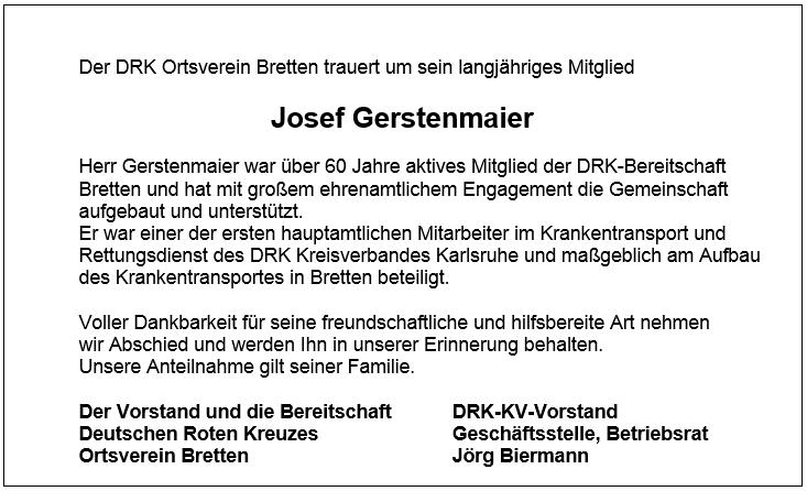 2015-05-25_Traueranzeige Josef Gerstenmaier