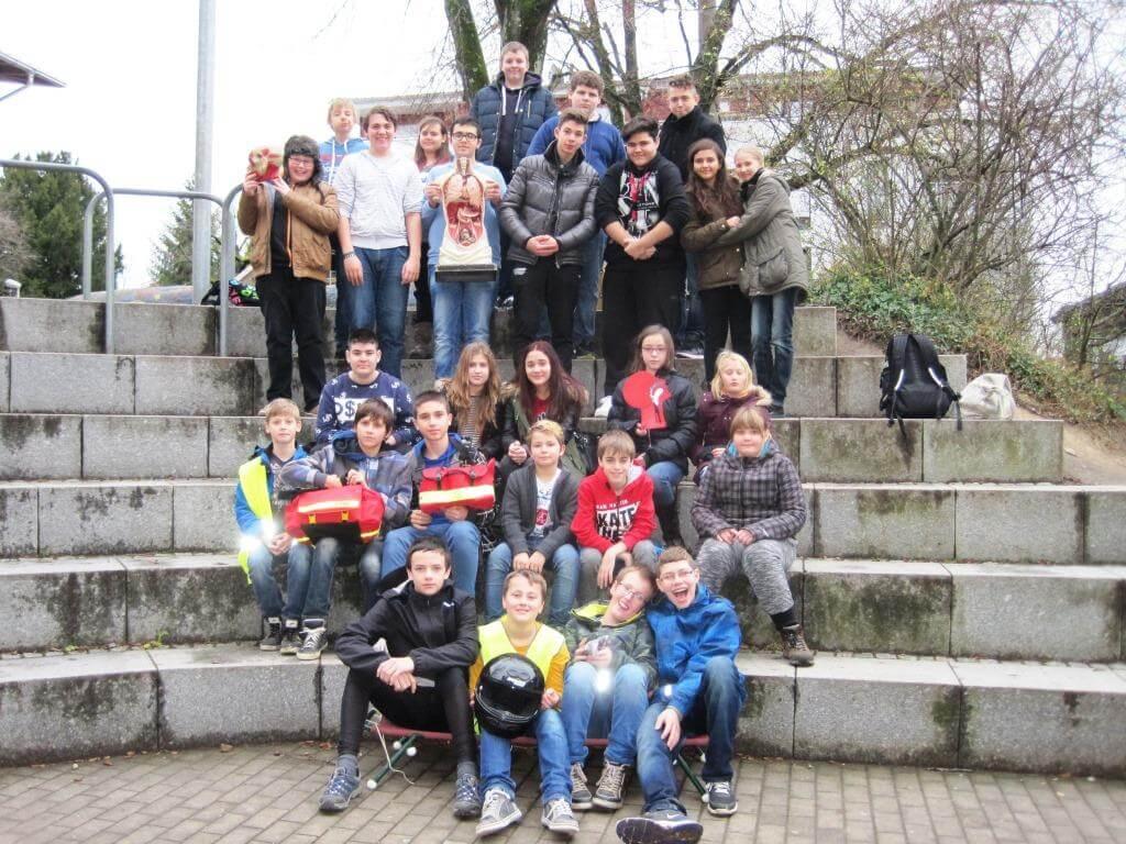 Schulsanitätsdienst an der Johann-Peter-Hebel-Gemeinschaftsschule in ...